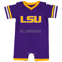 LSU Colosseum Infant Onesie Purple Jersey
