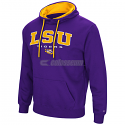 LSU Colosseum Men's Zone III  Pullover Hoodie - Purple