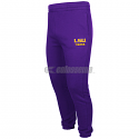 LSU Men's Colosseum Zone III Fleece Sweat Pants - Purple