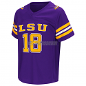 Colosseum LSU Tigers Toddler Hail Mary II Football Jersey - Purple
