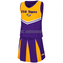 LSU Colosseum Girl's Pom Pom 2-Piece Cheerleader Set