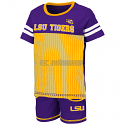 LSU Toddler Boy's Halifax 2-Piece Baseball Short Set