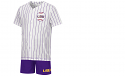 Colosseum LSU Boy's Bam-Bam Baseball Jersey and Short Set