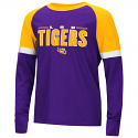 Colosseum LSU Youth Purple & Gold Ollie Long Sleeve Tee