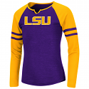 LSU Colosseum Girl's  Purple & Gold Andy Long Sleeve Top