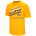 LSU Men's Angler Short Sleeve T-Shirt - Gold