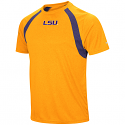Colosseum LSU Men's Rookie Polyester Tee - Gold