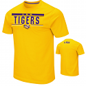 Colosseum LSU Men's Gold Moes Short Sleeve Tee