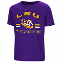 LSU Boy's Toddler Purple Cowboys Short Sleeve Tee