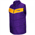 Colosseum LSU Adult Purple & Gold Beaulieu Puff Vest