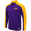 Colosseum LSU Men's Purple & Gold APU 1/4 Zip Jacket