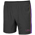Colosseum LSU Men's Spring Training Short - Charcoal