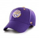 47 Brand LSU Purple Kickoff College Vault Retro Tiger Flex Hat