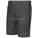 LSU Tigers Men's Columbia Chiliwear Polyester Walking Shorts - Dark Grey