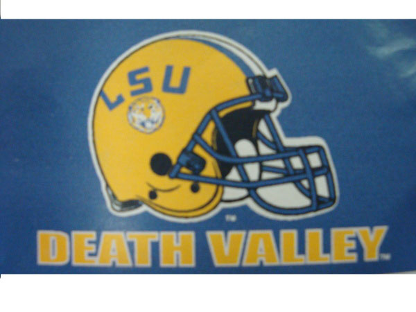 LSU Tigers 3'x5' Purple Death Valley Flag with Grommets