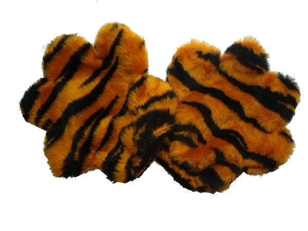 Tigers Striped Plush Fur Tiger Paws