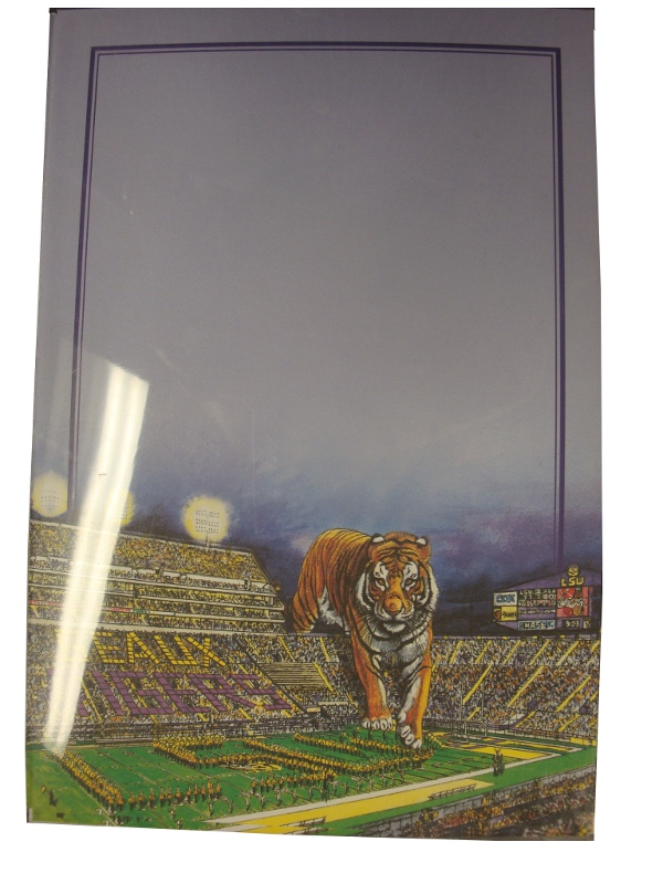 LSU Tigers Stadium Invitations by Routh