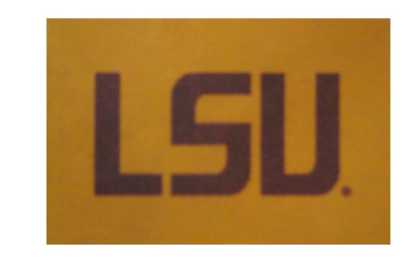 "LSU Tigers Boat Flag with Grommets 12"" x 18"" - Gold"
