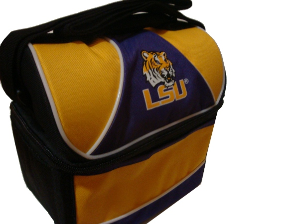 LSU Tigers 6-Can Lunch Pail