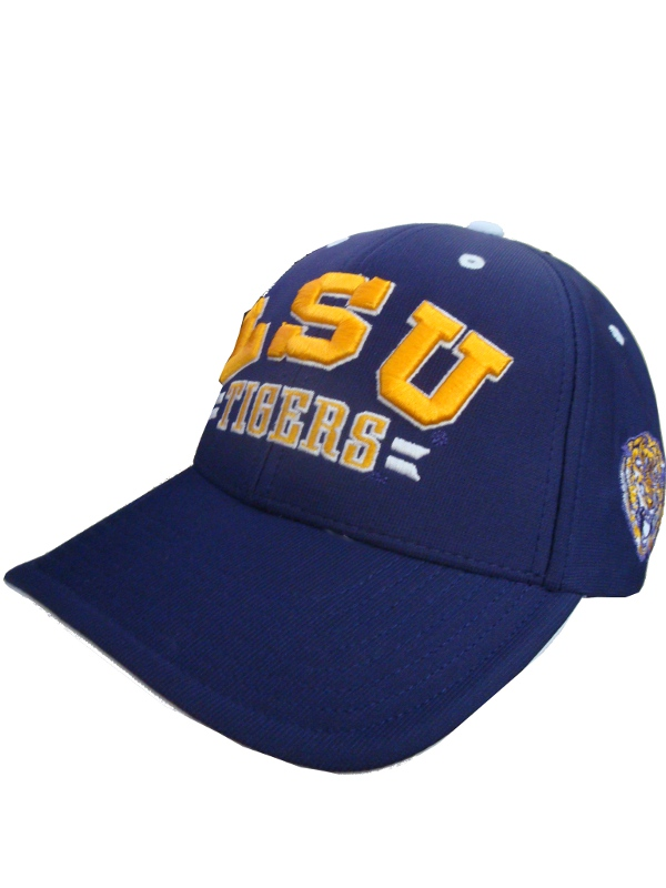 Forty Seven Brand LSU Tigers Purple One Size Structured College Vault Burke Cap