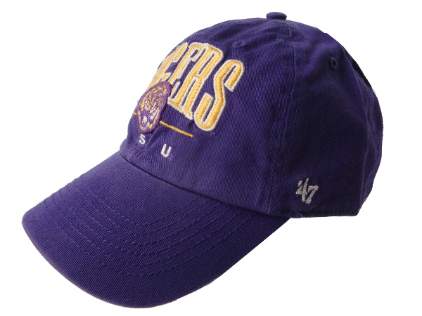 Forty Seven Brand LSU Tigers Purple McBain Relaxed Snapback Cap
