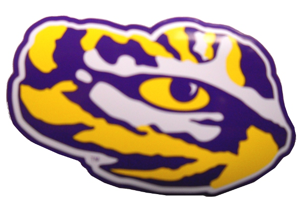 LSU Tigers Eye of the Tiger Magnet