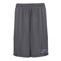 "LSU Badger Men's Grey B-Core Peformance Pocketed 10"" Short"