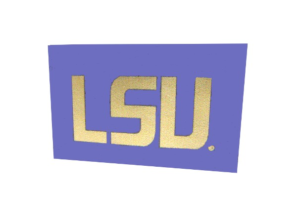 "LSU Tigers Boat Flag 12"" x 18"" - Purple"
