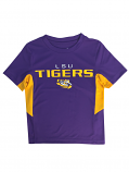 LSU Child's Main Performance Tee - Purple and Gold