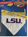 LSU Tigers Pet Collar Bandana