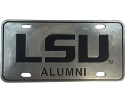 LSU Tigers Pewter LSU Alumni License Plate