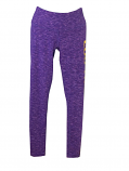 LSU Women's Touchdown Legging - Purple