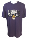 LSU 47 Brand Vintage Football T-Shirt - Purple