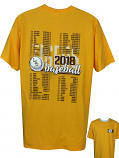 LSU Men's Bayou Short Sleeve Ultra Cotton 2018 Schedule T-Shirt - Gold