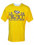 Colosseum LSU Men's Cotton Scrum Short Sleeve T-Shirt - Gold