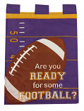 LSU Are You Ready for Some Football Garden Flag Banner