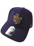 LSU Tigers 47 Brand MVP Adjustable Structured Beanie Tiger Hat - Purple