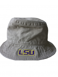 LSU Tigers Legacy92 Relaxed Fitted Bucket Hat - Khaki