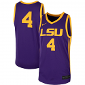 Nike LSU Men's Purple & Gold Replica Rio Basketball Jersey