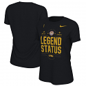LSU Nike WOMEN'S 2019 Football National Champions On-Field LOCKER Room LEGEND Status Tee - Black
