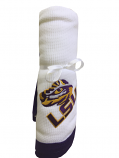 LSU Tigers Thermal Infant Blanket - White