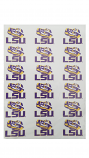 Color Shock LSU Tiger Eye Multi-Purpose Vinyl Stickers