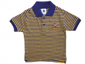 LSU Tigers Toddler Striped Polo - Purple and Gold