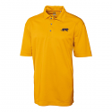 Cutter & Buck LSU Tigers Men's Genre Dry Teck Performance Polo - Gold