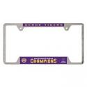 LSU Tigers National Champions METAL License Plate FRAME