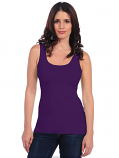 Gameday Classic Solid Mulbery Purple Tank
