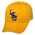 LSU Tigers Men's Top of the World Memory Fit 1Fit™ Hat - Gold