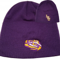 Top of the World Youth Purple Cuffed Knit Hat