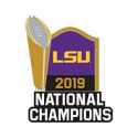 LSU Tigers National Champions Trophy COLLECTOR PIN