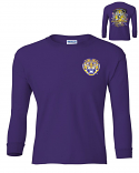 Bayou LSU YOUTH Can't Hold That Tiger Long Sleeve Ultra Cotton T-Shirt